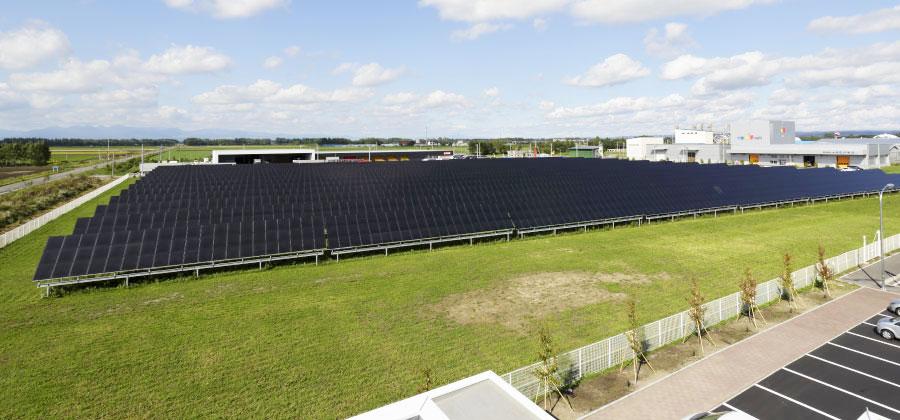 大規模産業用太陽光発電所