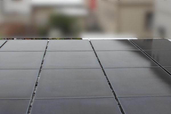 2台用カーポート屋根に設置しました!(幕別町)